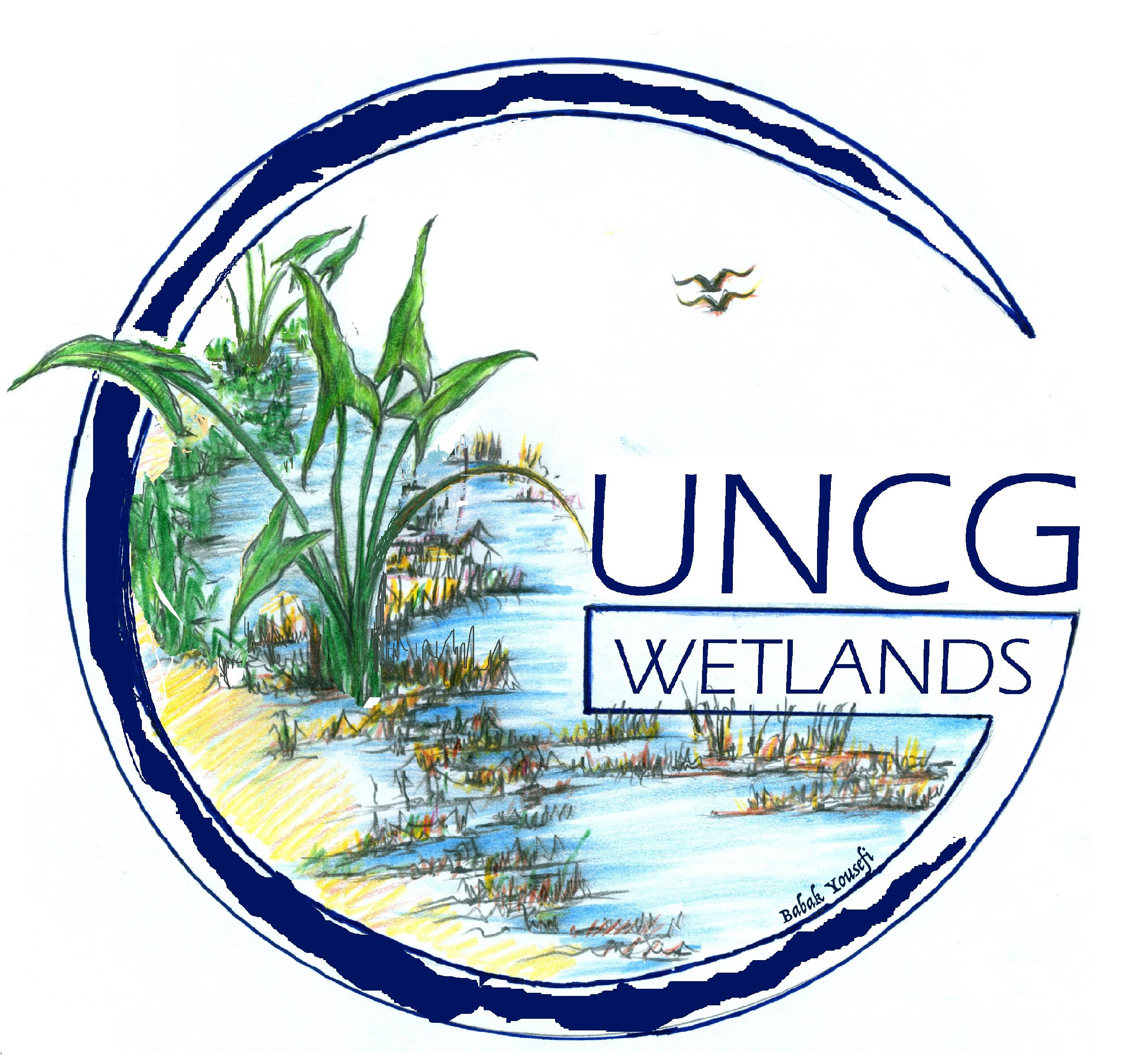 UNCG Wetlands Logo